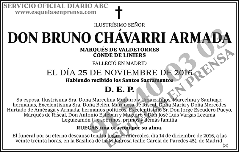 Bruno Chávarri Armada